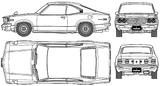 Imprimer le coloriage : Mazda, numéro 105009