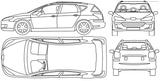 Imprimer le coloriage : Peugeot, numéro 105167