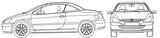 Imprimer le coloriage : Peugeot, numéro 105180