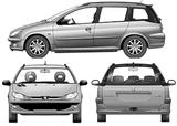 Imprimer le coloriage : Peugeot, numéro 105183