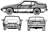 Imprimer le coloriage : Porsche, numéro 106186