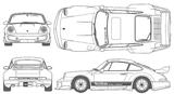Imprimer le coloriage : Porsche, numéro 106199