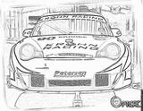 Imprimer le coloriage : Porsche, numéro 106201