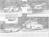 Imprimer le coloriage : Porsche, numéro 106204