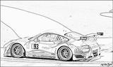 Imprimer le coloriage : Porsche, numéro 106205