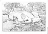 Imprimer le coloriage : Porsche, numéro 106220