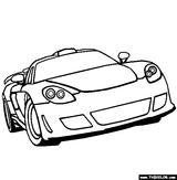 Imprimer le coloriage : Porsche, numéro 106221