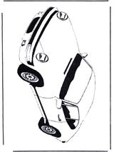 Imprimer le dessin en couleurs : Porsche, numéro 110577