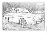 Imprimer le coloriage : Renault, numéro 105208