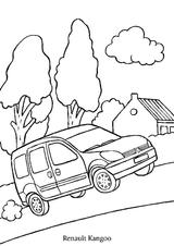 Imprimer le coloriage : Renault, numéro 105209