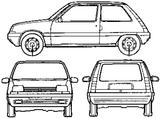 Imprimer le coloriage : Renault, numéro 105212
