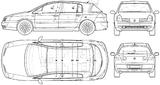Imprimer le coloriage : Renault, numéro 105228