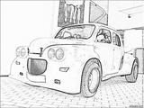 Imprimer le coloriage : Renault, numéro 105234