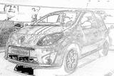 Imprimer le coloriage : Renault, numéro 105241