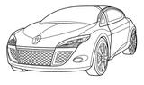 Imprimer le coloriage : Renault, numéro 105242