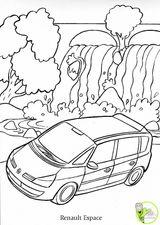 Imprimer le dessin en couleurs : Renault, numéro 109508