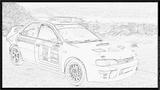Imprimer le coloriage : Subaru, numéro 105292