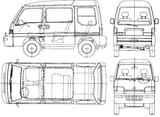 Imprimer le coloriage : Subaru, numéro 105302