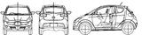 Imprimer le coloriage : Subaru, numéro 105303