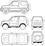 Imprimer le coloriage : Suzuki, numéro 105018