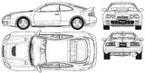 Imprimer le coloriage : Toyota, numéro 105335