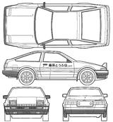 Imprimer le coloriage : Toyota, numéro 105357