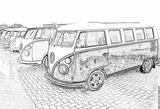 Imprimer le coloriage : Volkswagen, numéro 105376