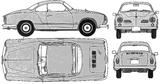 Imprimer le coloriage : Volkswagen, numéro 105378
