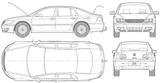 Imprimer le coloriage : Volkswagen, numéro 105380