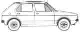 Imprimer le coloriage : Volkswagen, numéro 105384