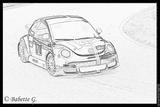 Imprimer le coloriage : Volkswagen, numéro 105387