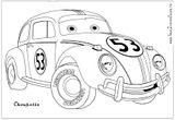 Imprimer le coloriage : Volkswagen, numéro 105392