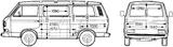 Imprimer le coloriage : Volkswagen, numéro 114573