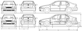 Imprimer le coloriage : Volkswagen, numéro 162848