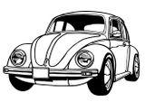 Imprimer le coloriage : Volkswagen, numéro 458756