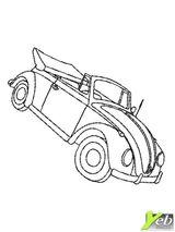 Imprimer le coloriage : Volkswagen, numéro 55863