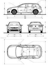 Imprimer le coloriage : Volkswagen, numéro 595094